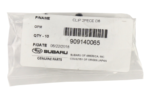 Subaru OEM Cargo Liner Clip - Universal