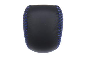 Subaru JDM CVT Shift Knob w/ Blue Stitching - Subaru CVT Models (inc. WRX 2015 - 2020)