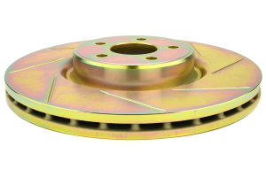 Brembo Gran Turismo 4 Piston Front Brake Kit Red Slotted Rotors ( Part Number:BRE 1P5.7002A2)