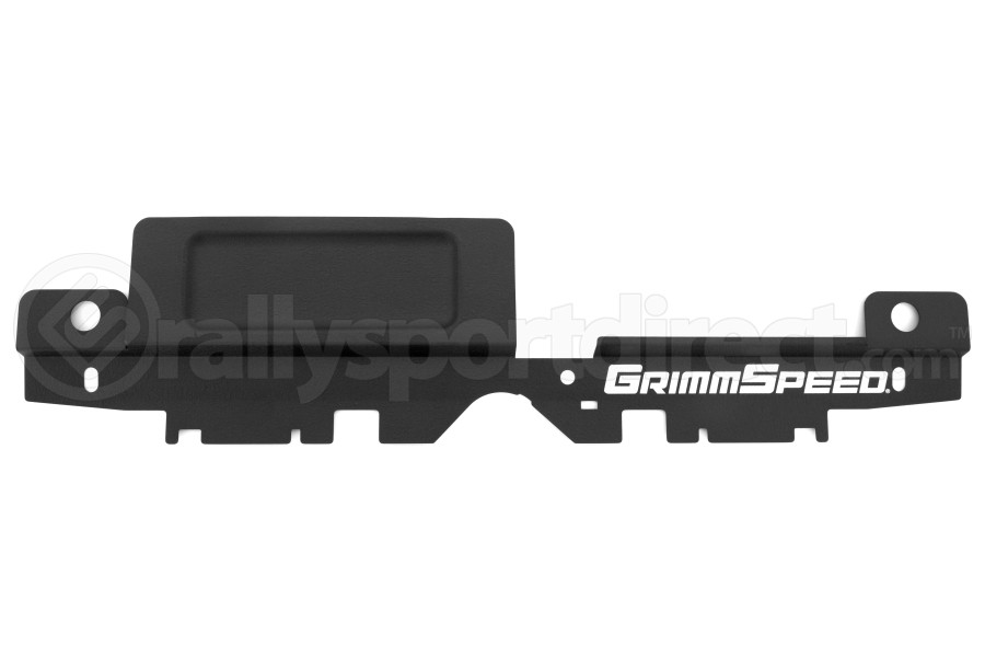 GrimmSpeed Radiator Shroud w/ Tool Tray Black (Part Number:096030)