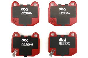 DBA XP650 Track Performance Rear Brake Pads - Subaru STI 2004-2017 / Mitsubishi Evo / OEM Brembo Applications