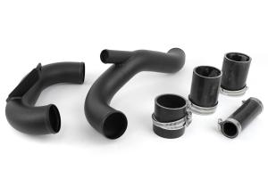 AMS Lower Intercooler Pipe Black ( Part Number: AMS.04.09.0003-2)