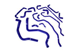 Samco Ancillary Hose Kit Blue - Subaru STI 2008-2014