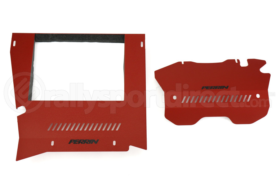 PERRIN Engine Cover Kit Red (Part Number:PSP-ENG-165RD)
