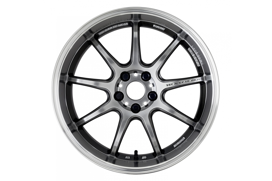 Work Wheels Emotion D9R 18x9.5 +38 5x114.3 GT Silver - Universal