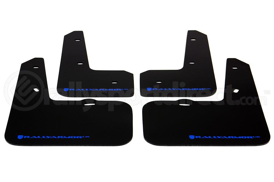 Rally Armor UR Mudflaps Urethane - Hyundai Veloster 2012-2014