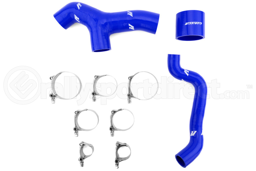 Mishimoto Intercooler Hose Kit Blue ( Part Number:MIS MMHOSE-SUB-INT6BL)