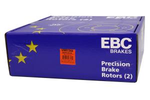EBC Brakes USR Series Sport Slotted Front Brake Rotors - Subaru STI 2005-2017