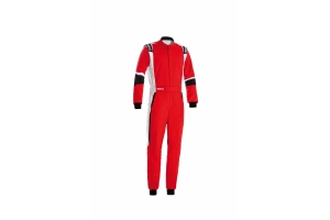 Sparco X-Light Racing Suit Red / White / Black - Universal