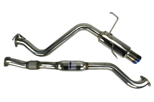Invidia N1 Cat Back Exhaust Single Titanium Tip ( Part Number:INV HS08SW4GTT)