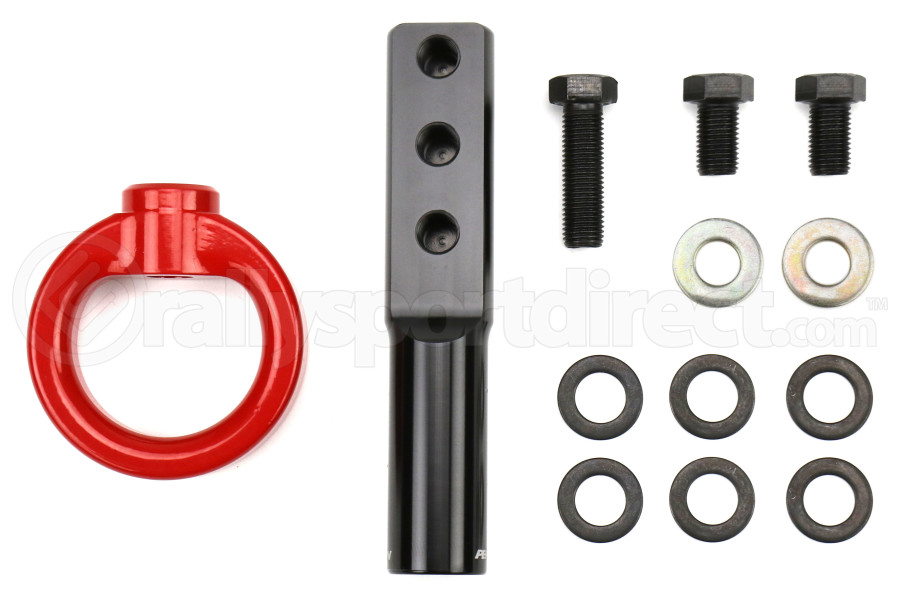 PERRIN Tow Hook Kit Red - Honda Civic Models (Inc. 2017+ SI / 2017+ Type R)