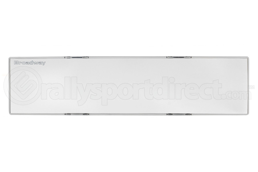Napolex Broadway Air Rear View Mirror Flat 300mm Clear Frame (Part Number:BW246)