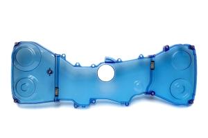 IAG Transparent Blue Timing Belt Covers - Subaru Models (inc. 2004-2007 STI / 2002-2014 WRX)