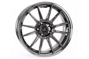 Cosmis Racing Wheels R1 19x9.5 +20 5x120 Black Chrome - Universal