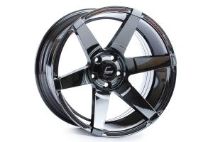 Cosmis Racing Wheels S1 18x10.5 +5 5x114.3 Black Chrome - Universal