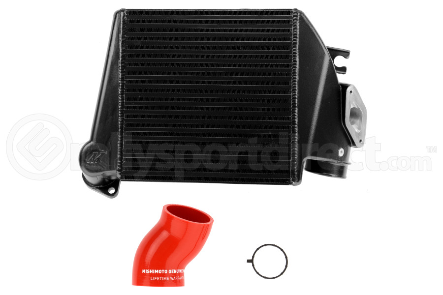 Mishimoto Black Top Mount Intercooler w/ Red Hose ( Part Number:MIS MMTMIC-WRX-08BKRD)