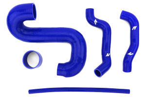 Mishimoto Silver Top Mount Intercooler w/ Blue Hoses ( Part Number:MIS MMTMIC-WRX-01SLBL)