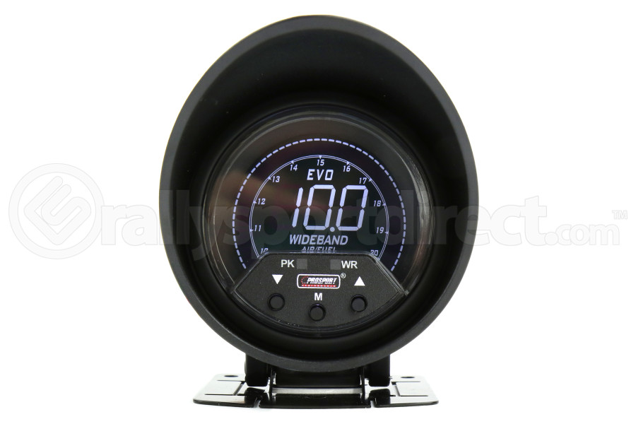 ProSport Premium EVO Wideband Air Fuel Ratio Gauge w/ Sensor Multi Color 60mm (Part Number:238EVOAFRPK4.9-WO)
