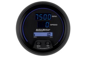 Autometer Cobalt Tachometer/Speedometer Gauge Digital 3-3/8in - Universal