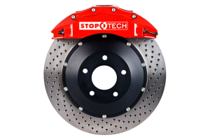 Stoptech ST-60 Big Brake Kit Front 355mm Red Drilled Rotors ( Part Number:STP 83.842.6700.72)