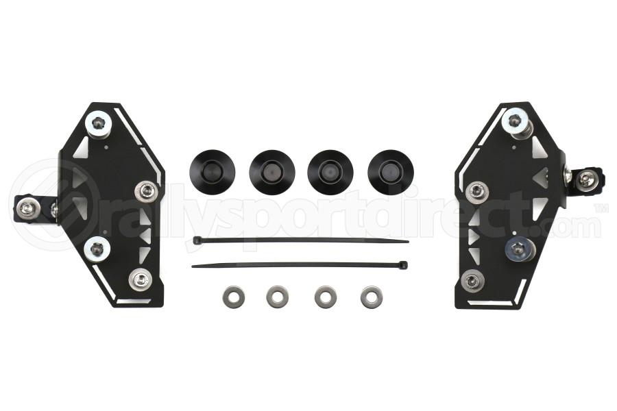 Move Over Racing Bumper Kit No Logo- Black  - Subaru WRX/STI 2015+