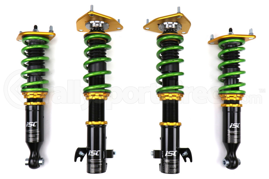 ISC Suspension N1 Street Sport Coilovers w/ Triple S Springs - Scion FR-S 2013-2016 / Subaru BRZ 2013+ / Toyota 86 2017+