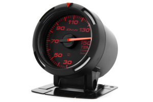 Defi Red Racer Temperature Gauge Metric 52mm 30-150C (Part Number: )