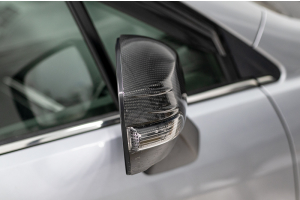 OLM Carbon Fiber Mirror Covers - Subaru Models (inc. 2014-2018 Forester / 2013-2014 Crosstrek)