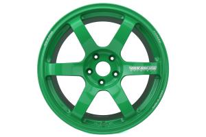 Volk TE37 SAGA 18x10 +35 5x114.3 Takata Green - Universal