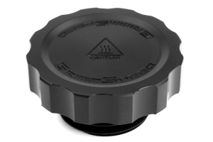 GrimmSpeed Cool Touch Delrin Oil Cap Black ( Part Number: 120006BK-D)