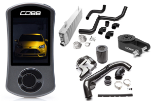 COBB Tuning Stage 2 Power Package Carbon Fiber - Ford Focus ST 2013+