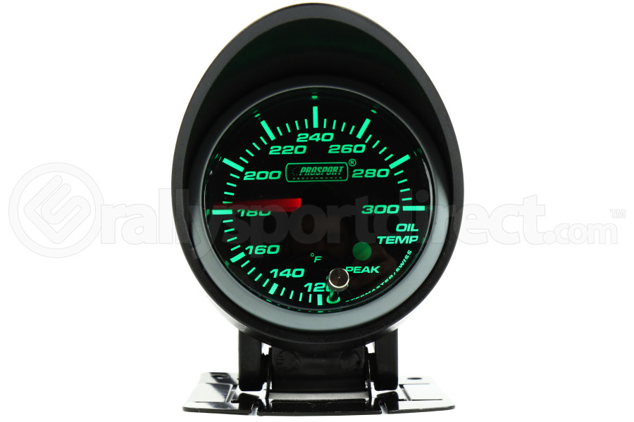 ProSport Premium Oil Temperature Gauge (Part Number:216SMWGOTSWL270-PK.F)