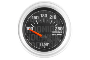 Autometer Hoonigan Water Temperature Gauge Electrical 52mm - Universal