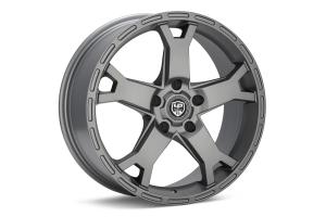 LP Aventure LP2 Wheel 17X8 +38 5x114.3 Matte Grey - Universal