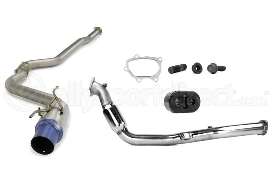 Turbo-Back Exhaust Titanium Tip System (Part Number:TTBS08-14WRXHTH)