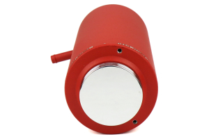 Mishimoto Aluminum Coolant Reservoir Tank Wrinkle Red - Universal