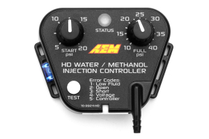 AEM Diesel Water / Methanol Injection Kit V2 (up to 40psi) w/ 5 Gallon Tank ( Part Number:AEM 30-3301)