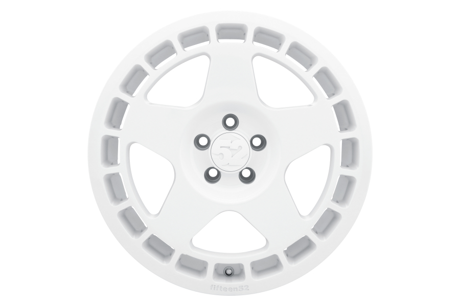 fifteen52 Turbomac 18x8.5 +48 5x114.3 Rally White - Universal