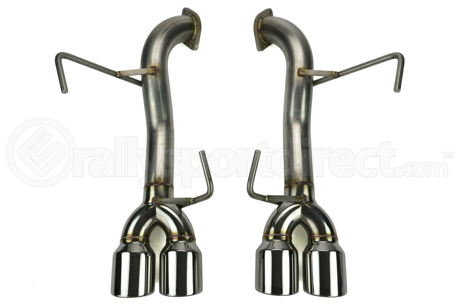 ETS Axle Back Exhaust System No Muffler Polished Tips (Part Number:400-31)