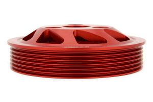 PERRIN Lightweight Accessory Pulley Kit Red (Part Number: )