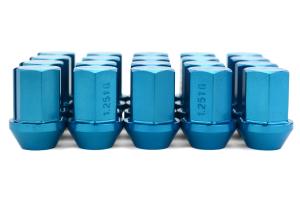 Volk Racing Rays 35MM 12X1.25 Lug Nuts Blue ( Part Number:VOL W3512125U)