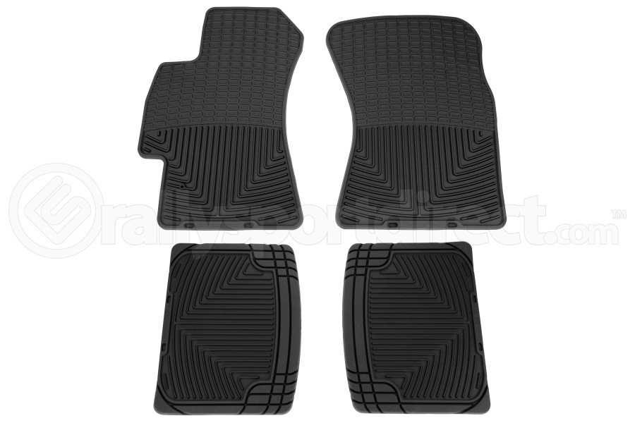 Weathertech Rubber Floor Mats Black Front and Rear (Part Number:W52-W20)
