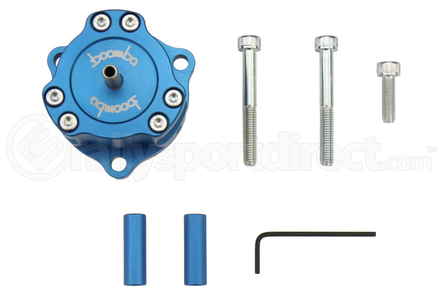 Boomba Racing Fully Adjustable Bypass Valve Blue - Ford Focus ST 2013+