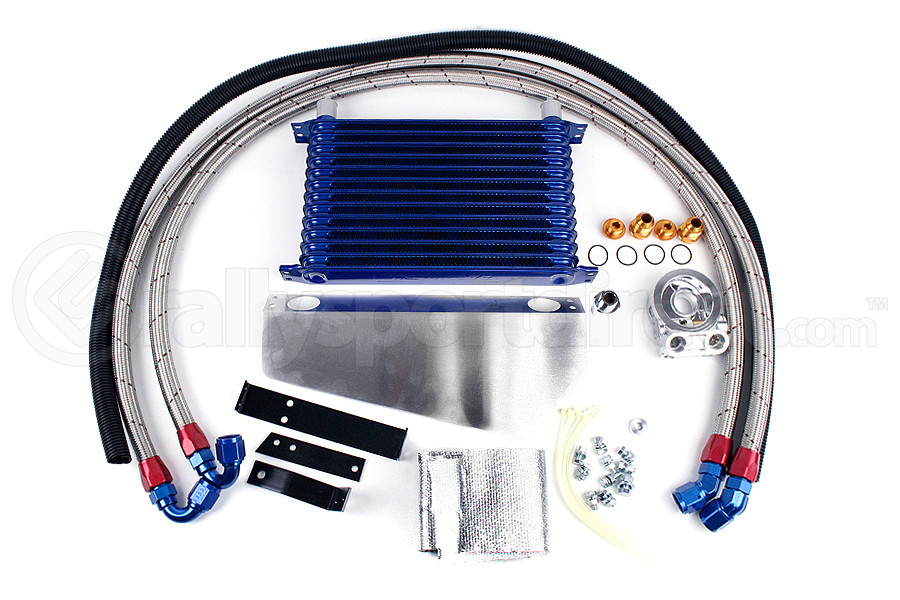 Greddy Oil Cooler Kit (13 Row) ( Part Number:GRE 12064605)