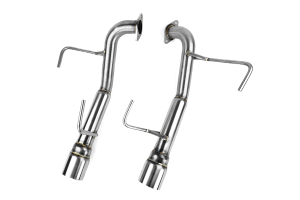 Nameless Performance Muffler Delete Double Wall Polished Tips ( Part Number: RSPD003)