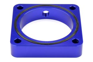 Torque Solution 19mm Throttle Body Spacer Blue - Scion FR-S 2013-2016 / Subaru BRZ 2013+ / Toyota 86 2017+