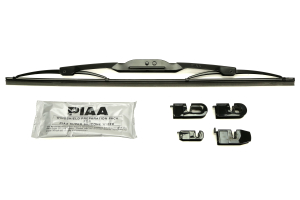 PIAA Super Silicone Wiper Blade Black 16in (Part Number: )