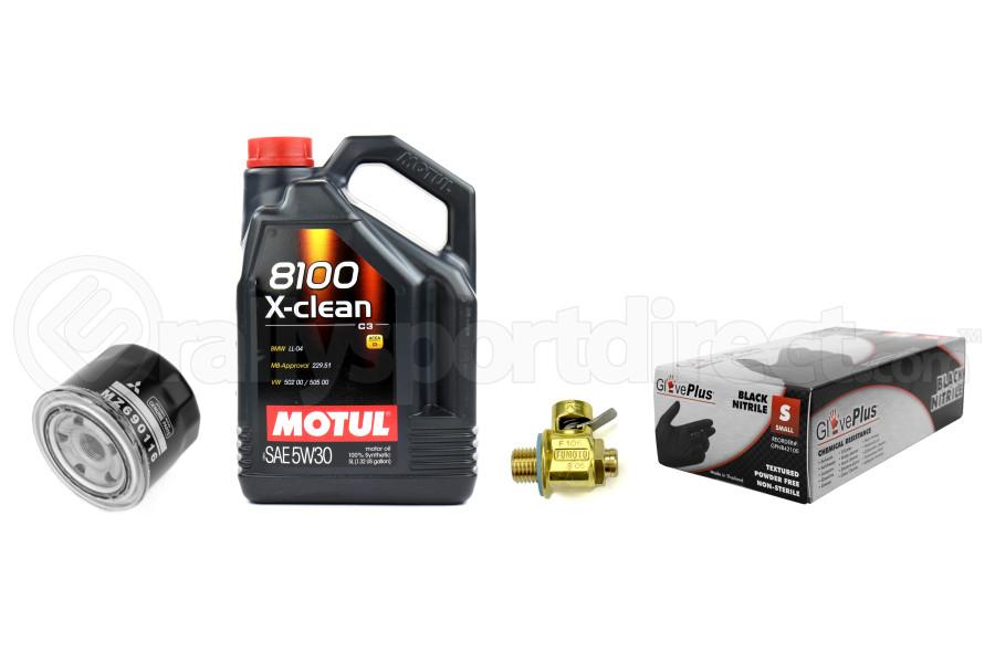 Mitsubishi Evo Oil Change Kit (Part Number:EVOOIL)