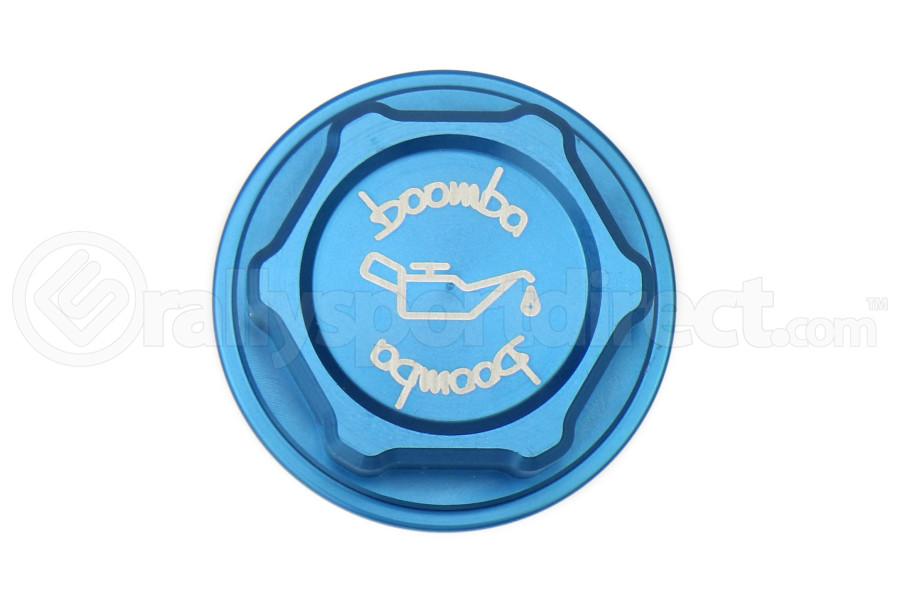 Boomba Racing Oil Cap Blue - Ford Focus RS 2016+ / Focus ST 2013+ / Fiesta ST 2014+