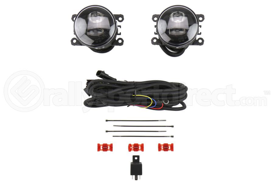 OLM Nighthawk DRL LED Fog Lights - Subaru Models (inc. 2015-2019 WRX / STI)